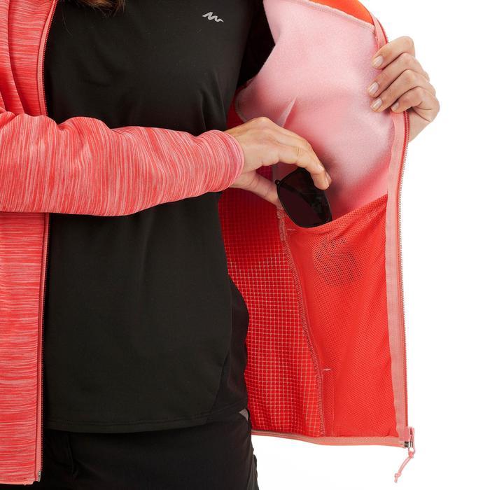 Fleece damesvest voor bergwandelen MH920 roze