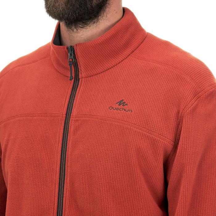 Veste polaire de randonnée montagne homme MH520 Orange