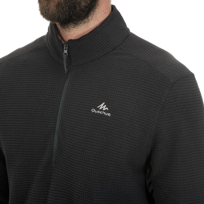 Polaire de randonnée montagne homme MH500 Noir