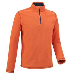 Forclaz 50 Men's Mountain Hiking Fleece - Orange