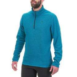 MH100 Men's Mountain Hiking Fleece - Turquoise