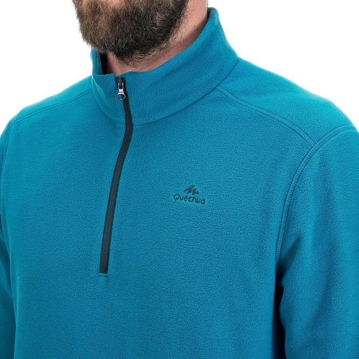 Herenfleece voor bergwandelen MH100 turquoise