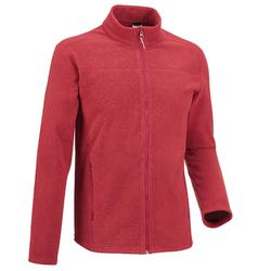 Men's Mountain walking fleece MH120 - Maroon