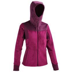 MH520 Women's Mountain Hiking Fleece Jacket - Purple