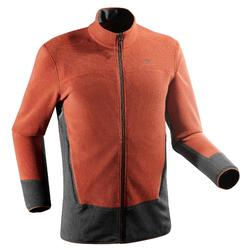 Fleecejacke Bergwandern MH520 Herren orange