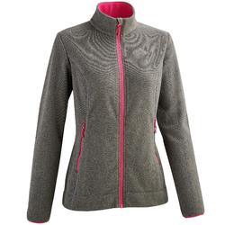 MH120 Women's Mountain Hiking Fleece Jacket - Black