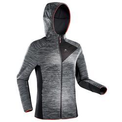 Fleece vest voor bergwandelen dames MH900 gemêleerd grijs