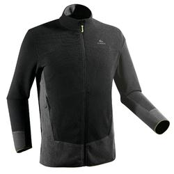 MH520 Men's Mountain Hiking Fleece - Black