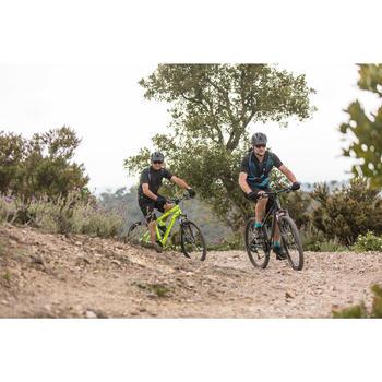 "MTB Rockrider ST100 27.5"" 3x7-speed mountainbike Grijs/blauw"
