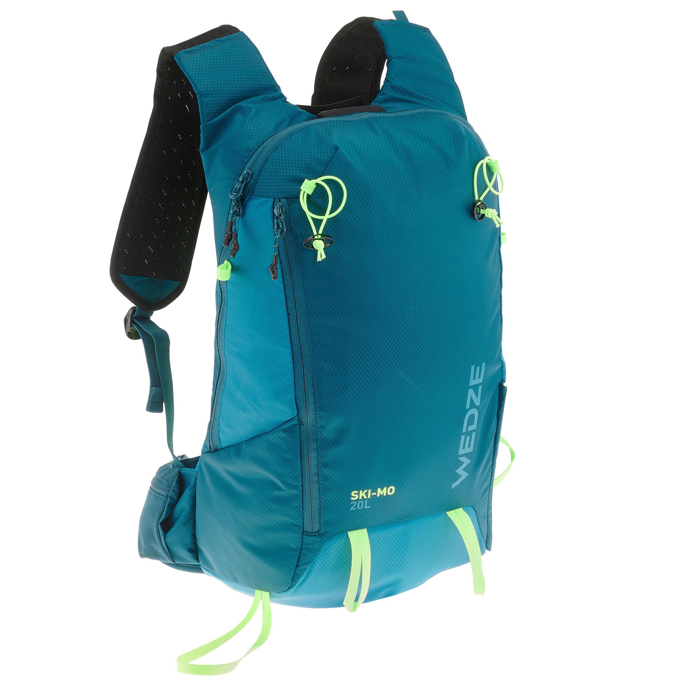 Damen,Herren Tourenski-Rucksack Backback Ski-Mo 20 Liter | 03608449848176