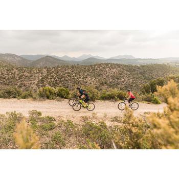 """Mountainbike 27,5"""" Rockrider ST 100 neongelb"""