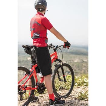 """MTB Rockrider ST100 27.5"""" B'TWIN 3x7-speed mountainbike Rood"""