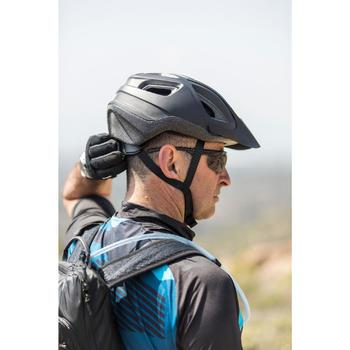 MTB helm ST 100 zwart fietshelm