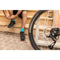 Fahrradschuhe MTB ST100 schwarz