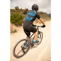 MOUNTAINBIKE-SHORTS 100 MTB HERREN SCHWARZ