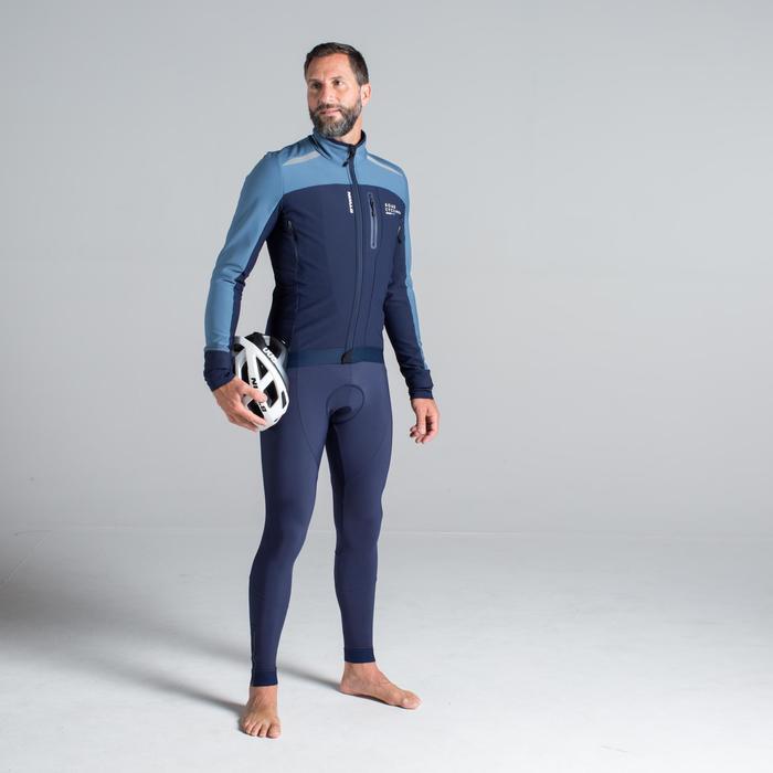 Wielrenjack RC500 heren marineblauw