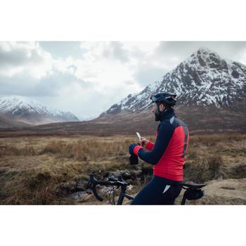 Fahrradjacke Rennrad 500 Herren schwarz