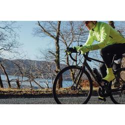Fahrrad-Winterjacke Rennrad 520 Herren neongelb