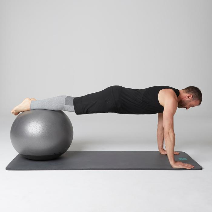 Débardeur 900 slim Gym Stretching & Pilates homme noir - 1501892