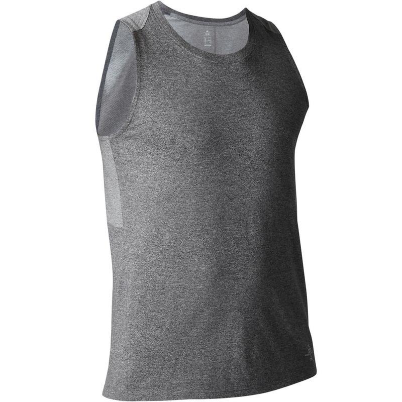 87c6c8044fc570 900 Slim-Fit Stretching   Pilates Tank Top - Heathered Dark Grey ...