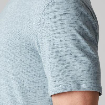 500 Regular-Fit Stretching T-Shirt - Light Blue AOP
