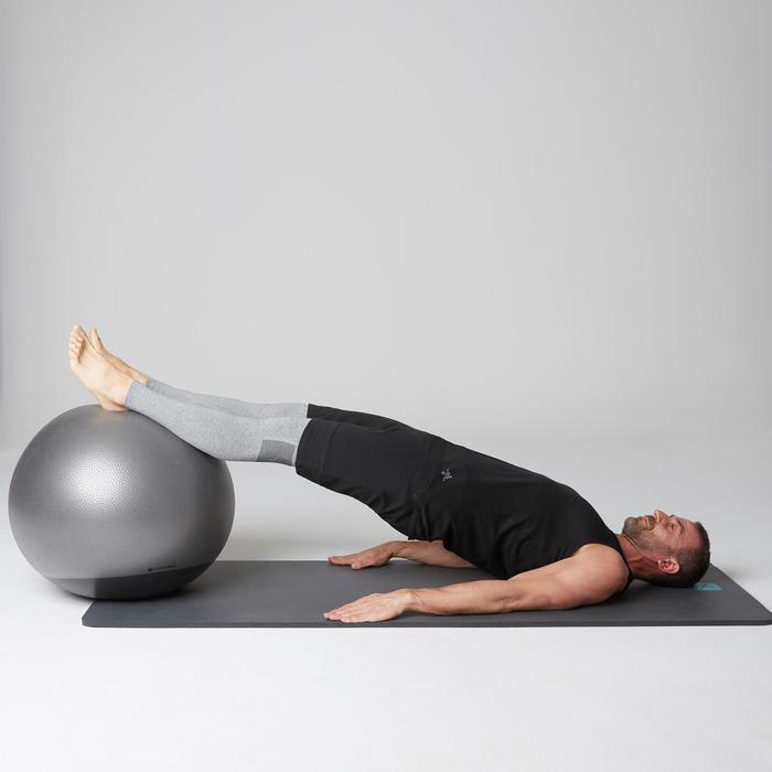 Débardeur 900 slim Gym Stretching & Pilates homme noir - 1501939