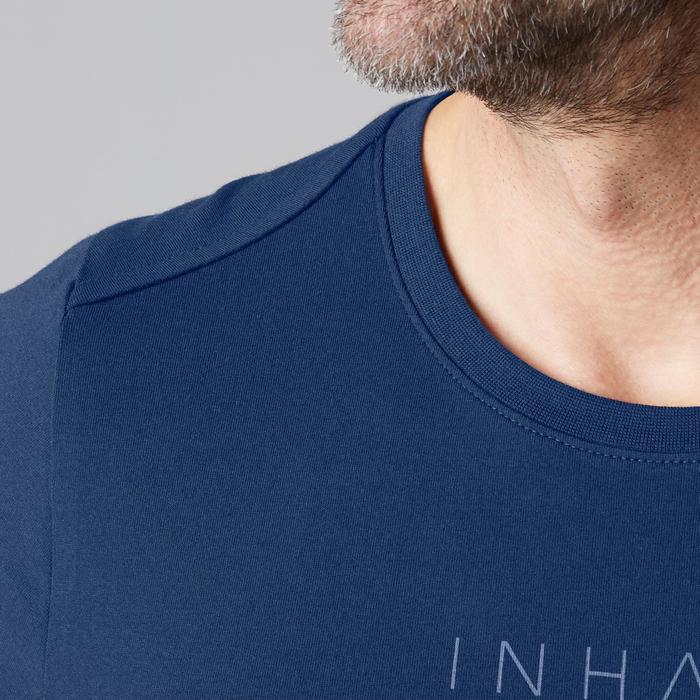 T-Shirt 520 regular col rond Gym & Pilates AOP homme - 1501960
