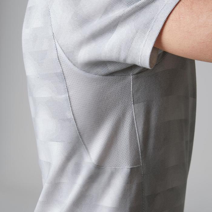 T-Shirt 520 regular col rond Gym & Pilates AOP homme - 1501972
