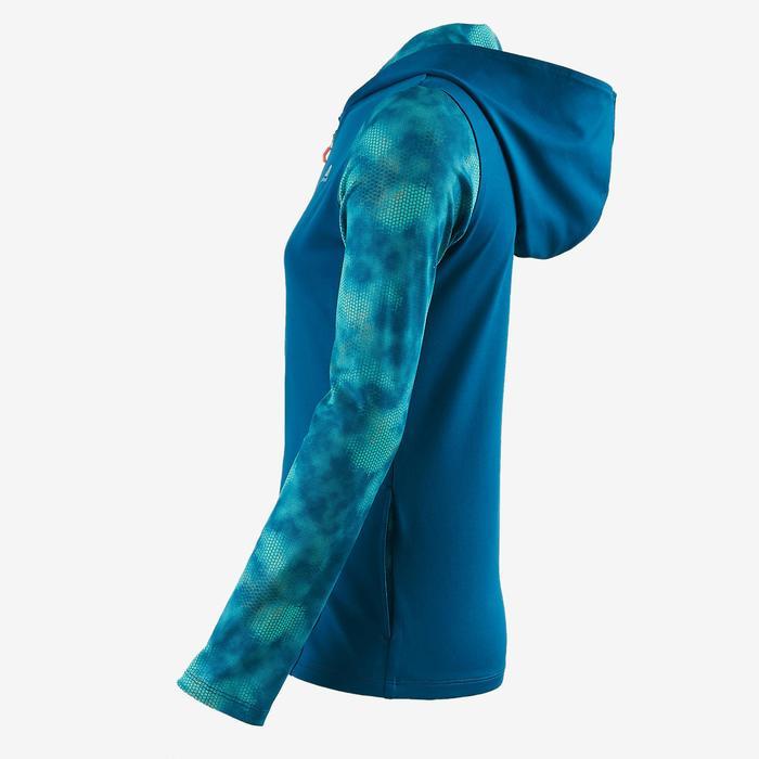 Veste zippée capuche Gym Energy fille - 1502081