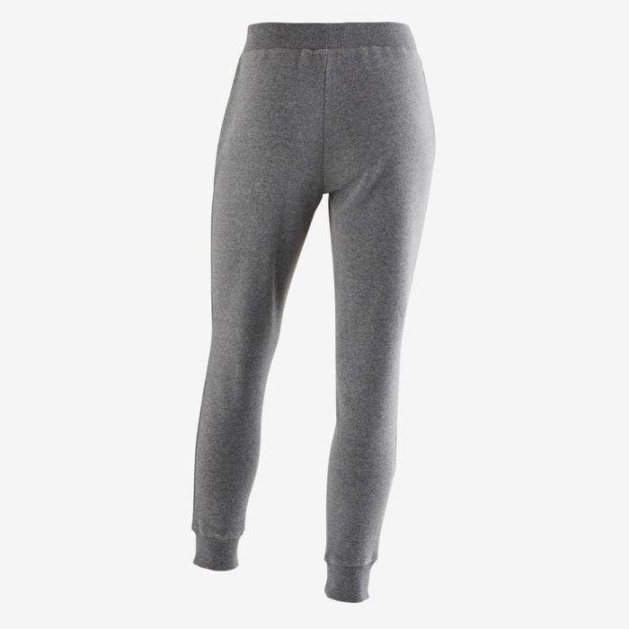 Pantalon molleton 500 Gym fille imprimé - 1502089