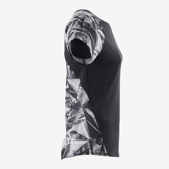 T-Shirt manches courtes S900 Gym Fille imprimé - 1502114