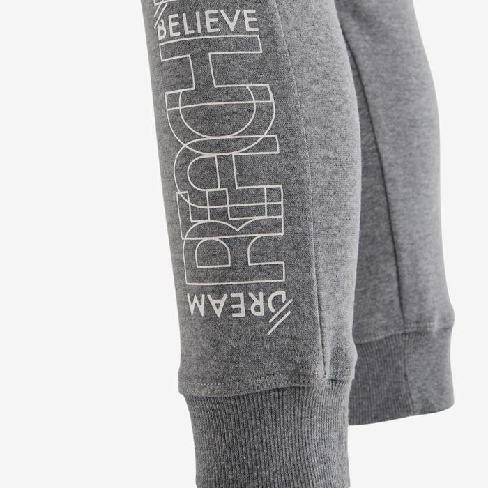 Pantalon molleton 500 Gym fille imprimé - 1502120
