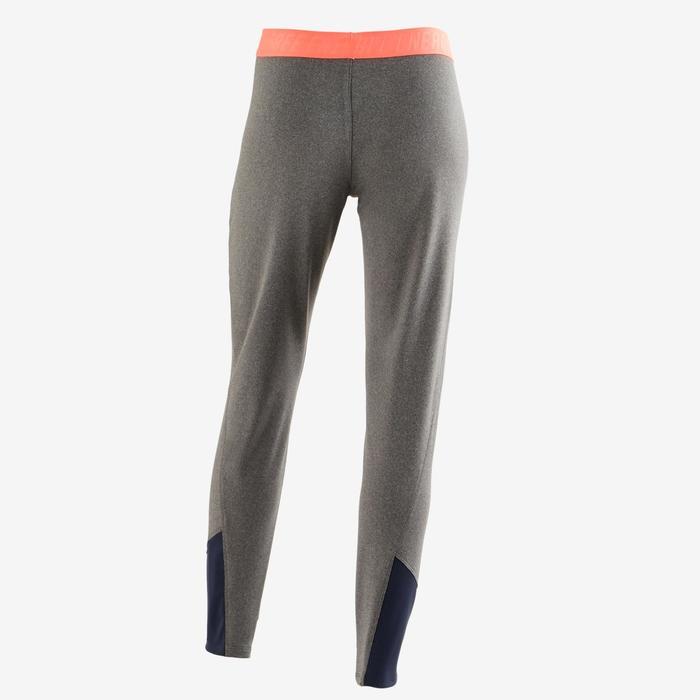 Pantalón slim S900 Gimnasia niña gris