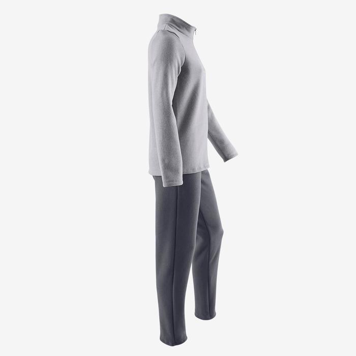 Survêtement chaud zippé imprimé Gym fille Warm'y Zip - 1502142