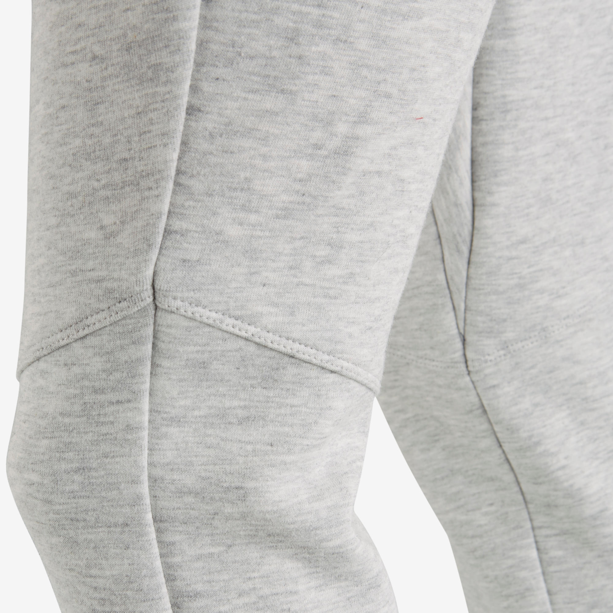 500 Spacer Girls' Gym Bottoms - Light Grey
