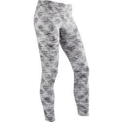 Leggings warm S500 Gym Kinder grau mit Print