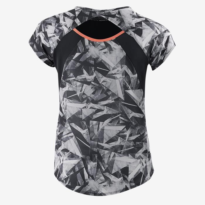 T-Shirt manches courtes S900 Gym Fille imprimé - 1502163