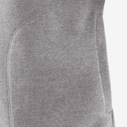 Trainingsjacke 100 Gym Kinder grau