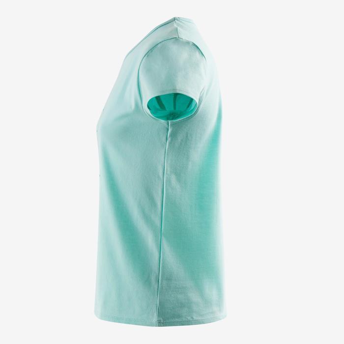 T-Shirt manches courtes 100 Gym fille imprimé - 1502184