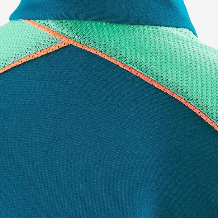 Veste S900 Gym fille imprimé bleu