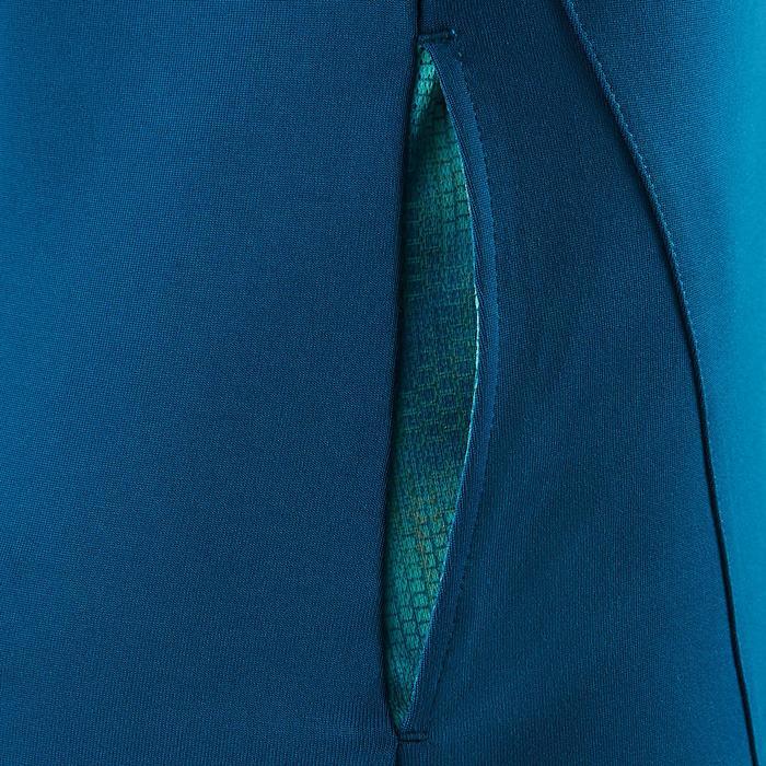 Chaqueta con capucha S900 Gimnasia niña estampado azul
