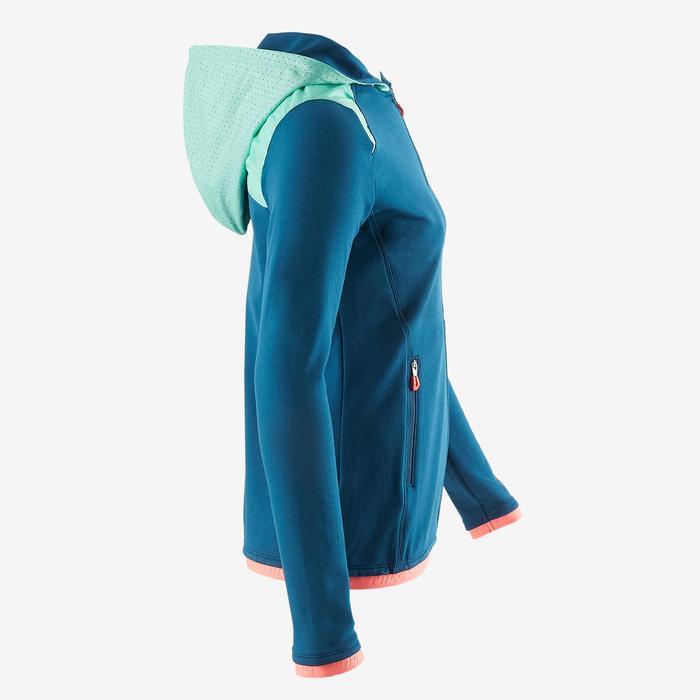 Kapuzenjacke S900 Gym Kinder blau