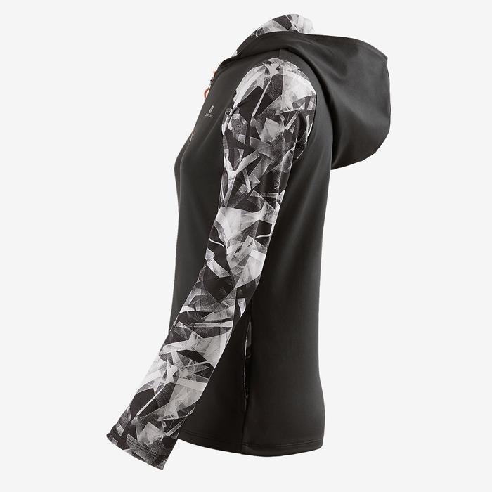 Veste zippée capuche Gym Energy fille - 1502280