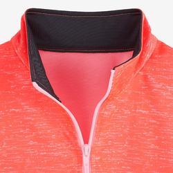 Trainingsanzug Gym'Y Kinder rosa mit Print