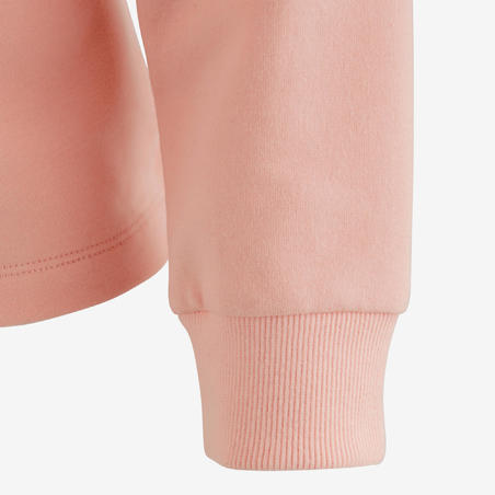 100 Warm Gym Sweatshirt - Girls