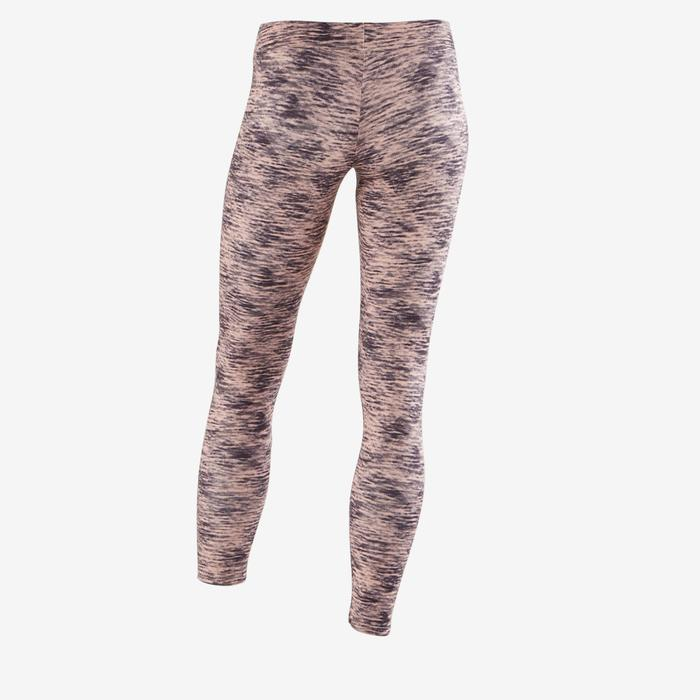 Warme gymlegging S500 voor meisjes roze print