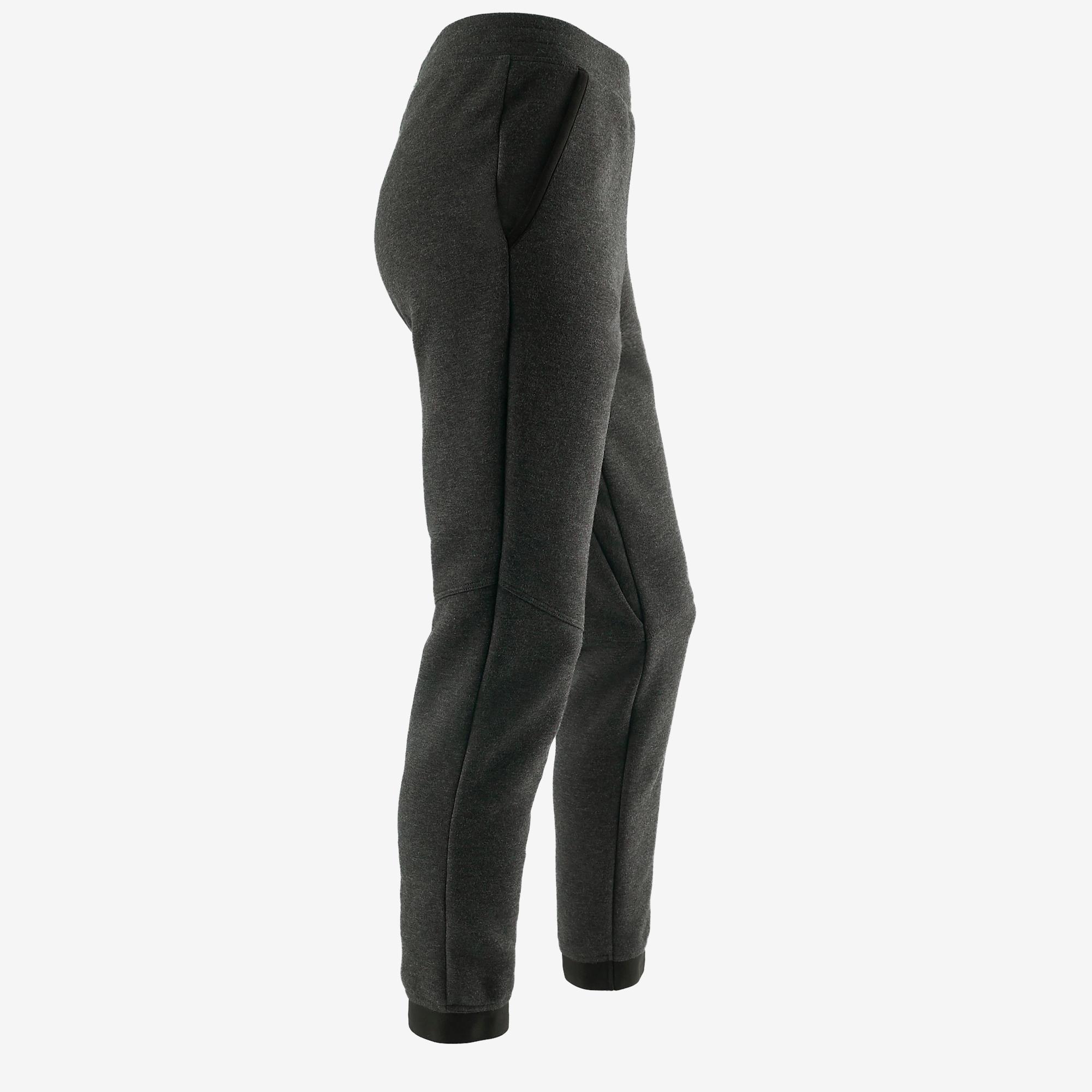 500 Spacer Girls' Gym Bottoms - Dark Grey