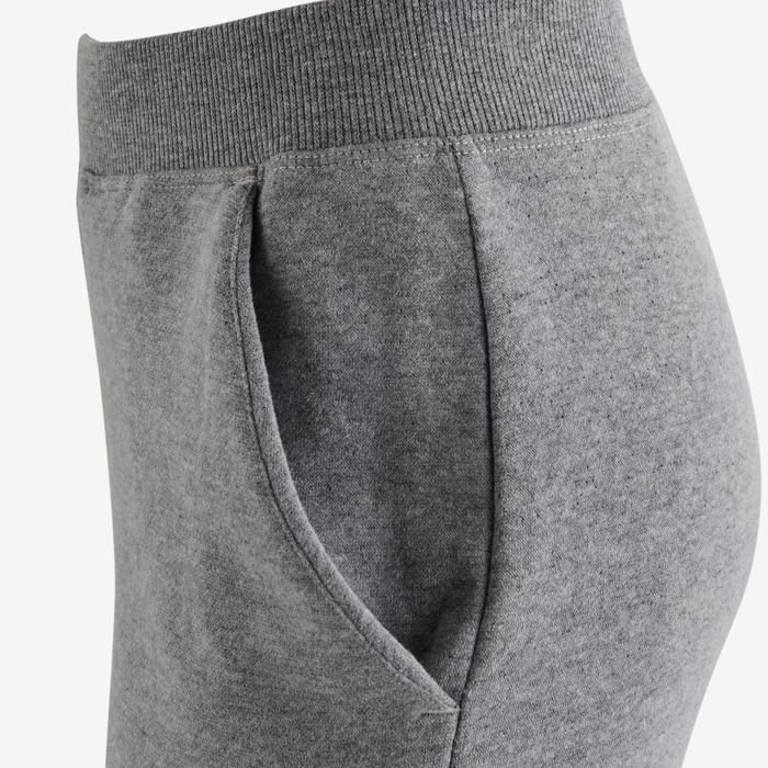 Pantalon molleton 500 Gym fille imprimé - 1502335