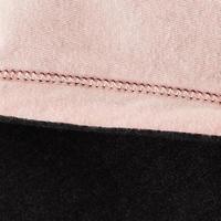 500 Džersio medvilnės sportinė striukė mergaitėms – pilka
