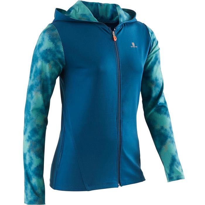 Veste zippée capuche Gym Energy fille - 1502363